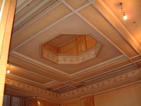 Decorazione soffitto - Monza
