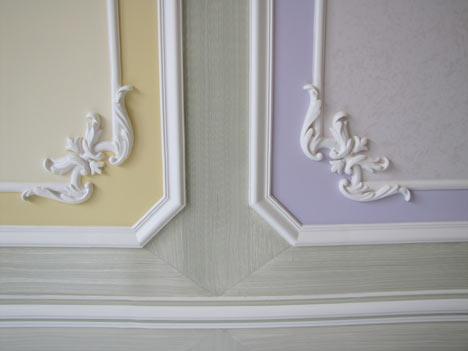 Tinteggiature milano monza brianza decorazione - Decori in gesso per interni ...